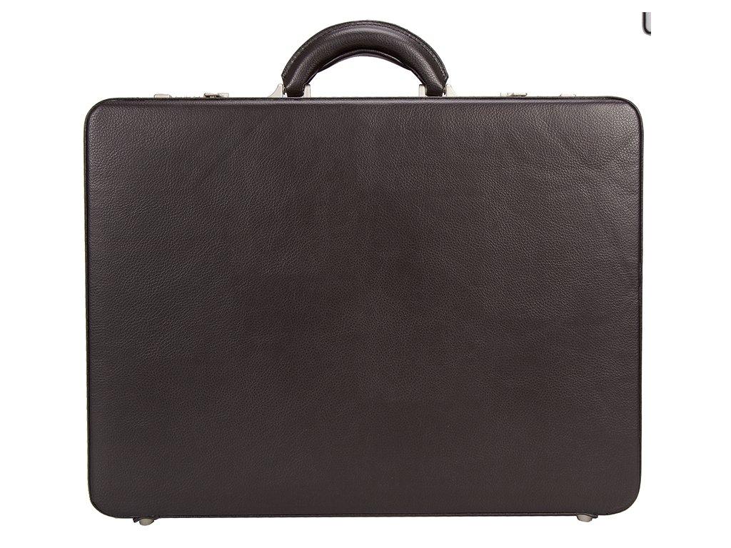 Černý ataše kufr 2629-01, d&n lederwaren