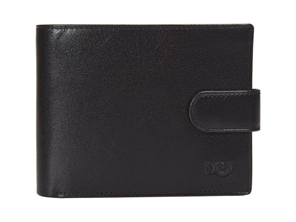 Luxusní pánská kožená peněženka MARTA PONTI Joao - černá