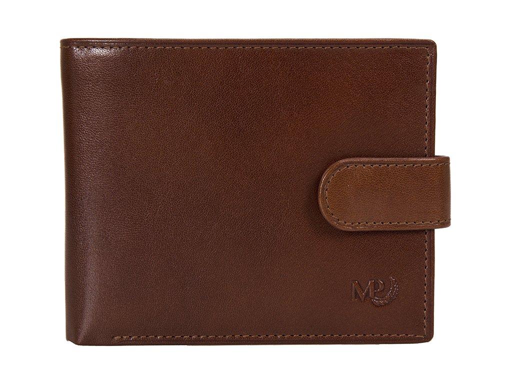 Luxusní pánská peněženka MARTA PONTI Joao - světle hnědá