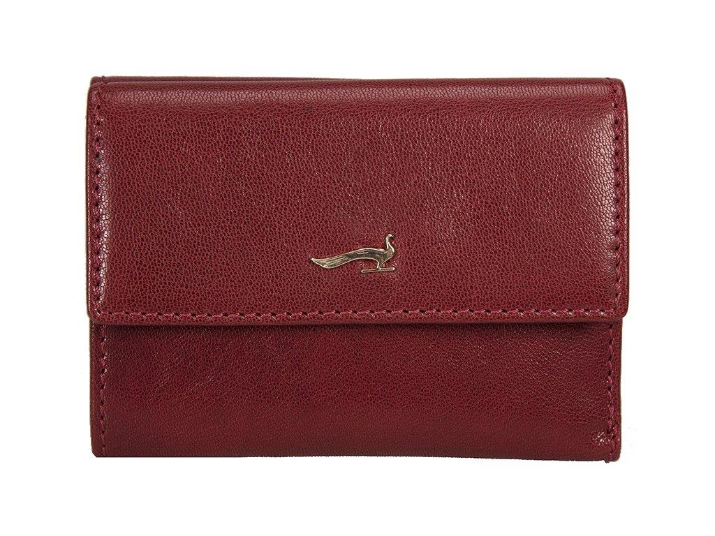 Dámská kožená peněženka MARTA PONTI Maria - červená