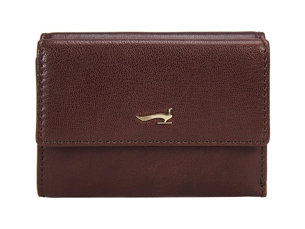Dámská kožená peněženka MARTA PONTI Manuela - hnědá