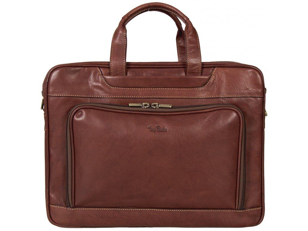Tony Perotti - luxusní značková pánská kožená taška 8976-42