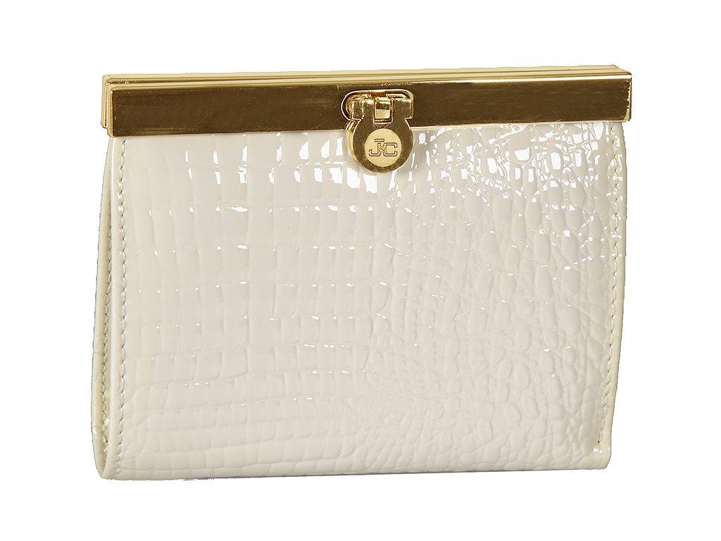 Dámská kožená peněženka JACKY&CELINE Rusalka - smetanově bílá