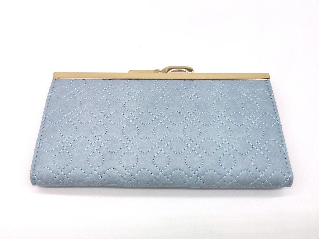 Dámská světle modrá peněženka značky S.FIORENTINO