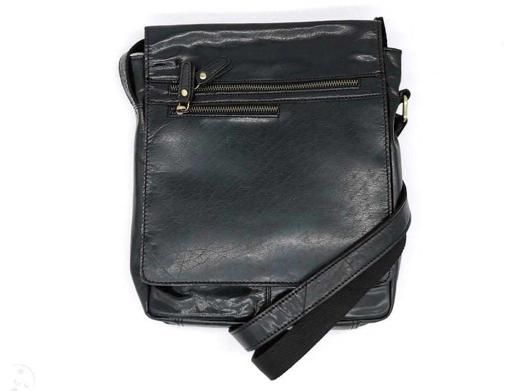 Kožená černá crossbody taška LN/3292/14-BLACK, LAGEN