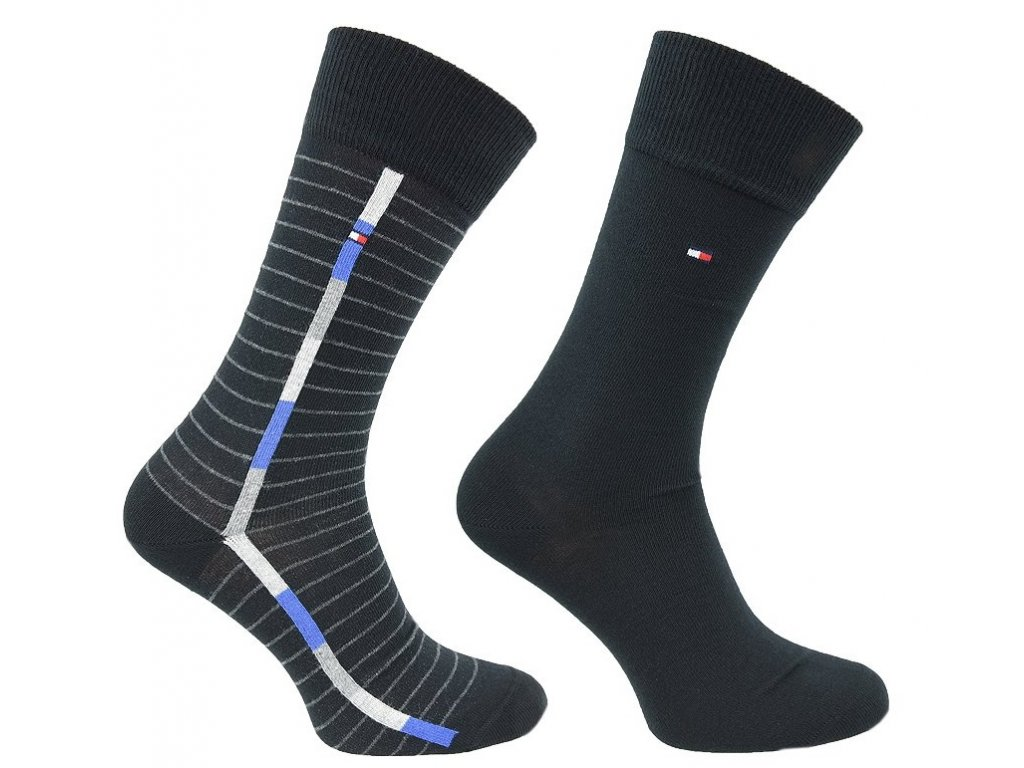 Značkové ponožky 2 páry No. 200, TOMMY HILFIGER