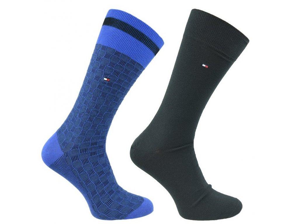 Značkové ponožky 2 páry No. 332, TOMMY HILFIGER
