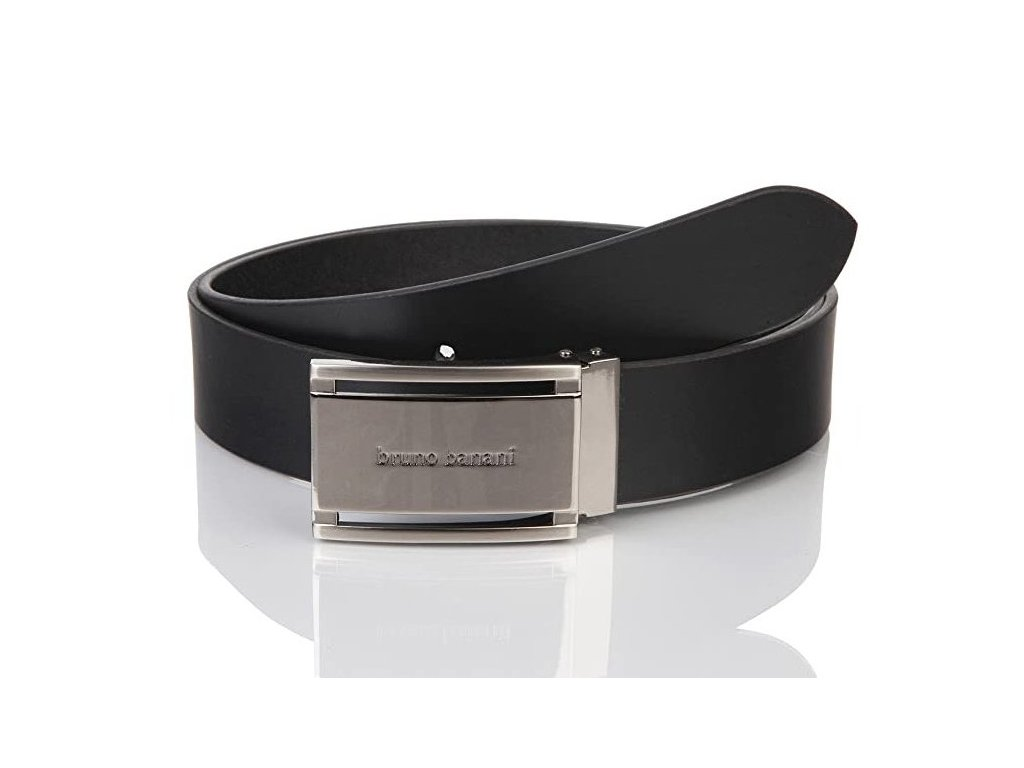 Pánský elegantní kožený pásek BRUNO BANANI