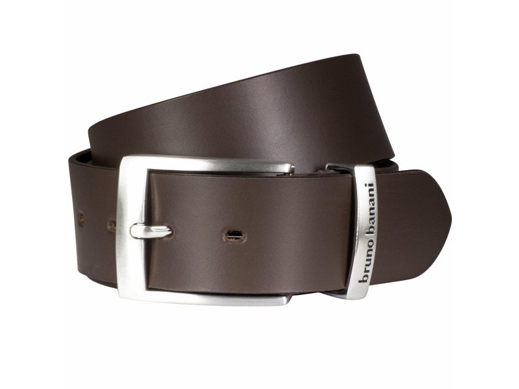 Elegantní pánský kožený pásek značky BRUNO BANANI