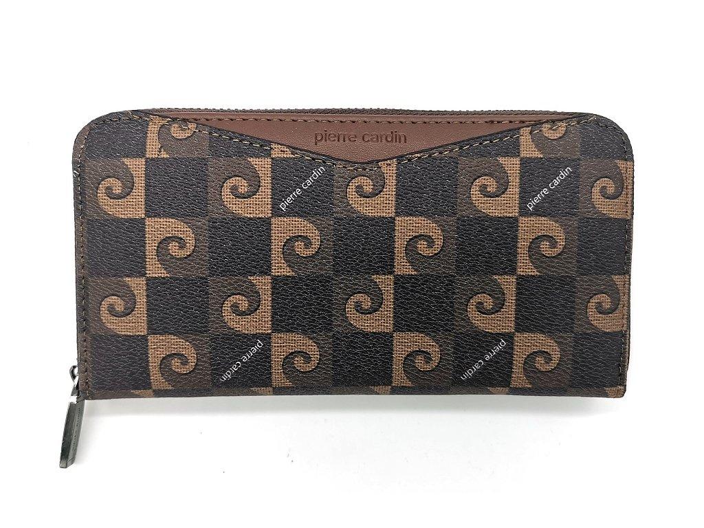 Dámská peněženka PIERRE CARDIN, Dash – hnědá