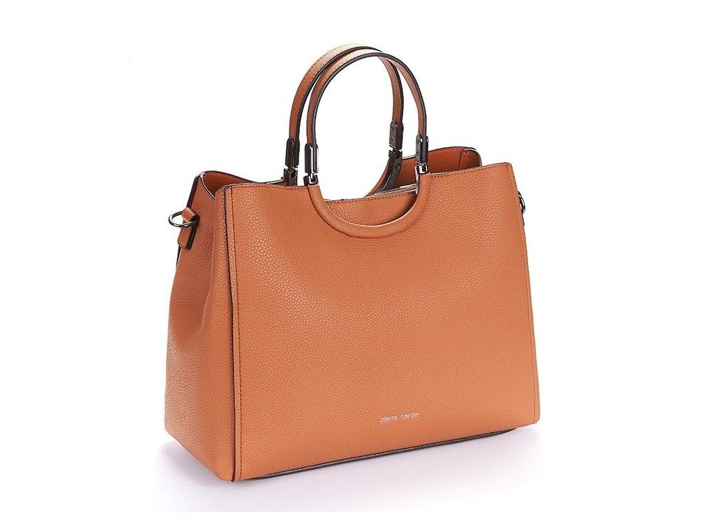 oslo02 1171 borsa donna pierre cardin manico fissato perno firma stampata tracolla fodera zip magnetica chiusura (3)