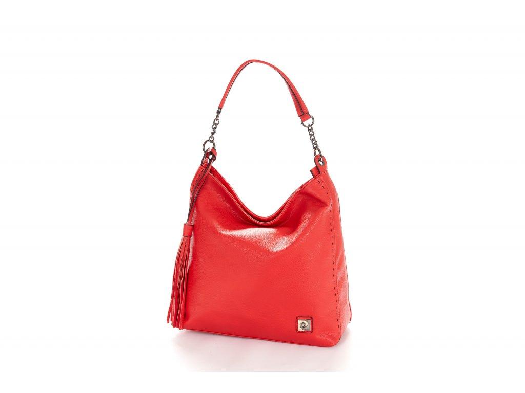 iza330 10181 borsa donna shopper ecopelle con interni a contrasto e logo pierre cardin (1)