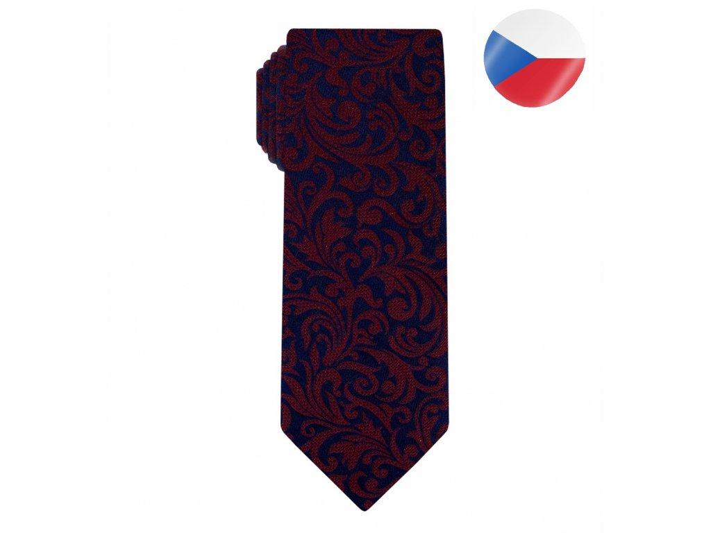 kravata monsi noble red dblue ceska