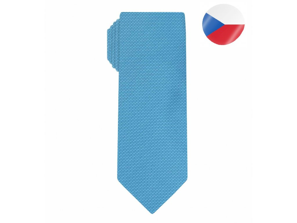 panska kravata comma modra (7)