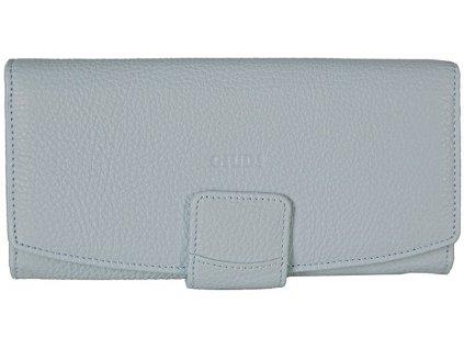 Dámská světle modrá kožená peněženka 6529/AE, GIUDI