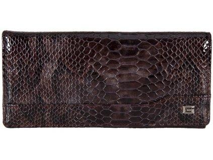 GIUDI dámská hnědá kožená peněženka 68987/MUL, GIUDI