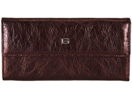 dámská bordo kožená peněženka 7421/BLA/AE GIUDI