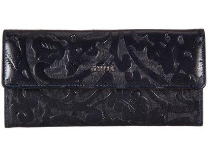 dámská modrá kožená peněženka 7421/ERM/COL, GIUDI