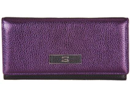 dámská fialová kožená peněženka 7415, GIUDI