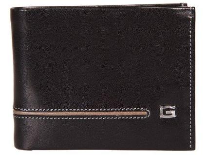 Pánská kožená peněženka GIUDI Riley - černá/hnědá