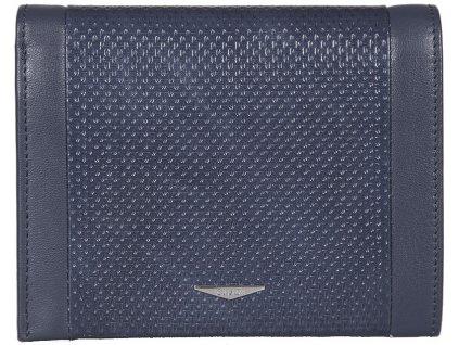 pánská modrá kožená peněženka 7434, GIUDI