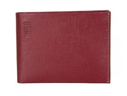 pánská červená kožená peněženka MANO 20206
