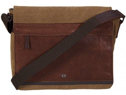"DAAG hnědá - koňak taška na 11,6"" notebook  CLOU 5, DAAG"