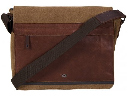 """hnědá - koňak taška na 11,6"""" notebook  CLOU 5, DAAG"""