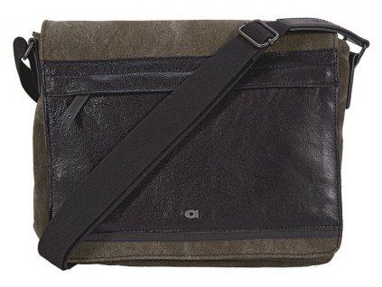 """Hnědá pánská taška i na 11,6"""" notebook CLOU5, DAAG"""