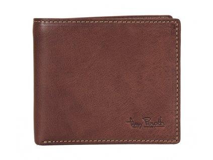 pánská hnědá kožená peněženka 4958, Tony Perotti