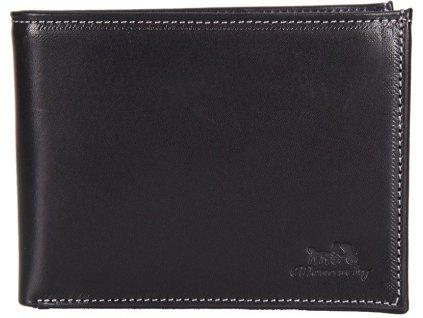 MONARCHY pánská černá kožená peněženka 310, MONARCHY