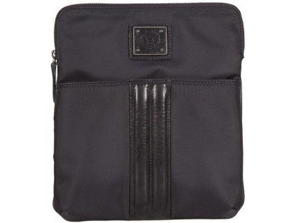 černá taška přes rameno nylon+kůže OGGI 201, BUGATTI
