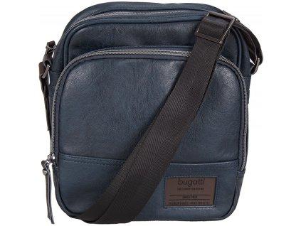 tmavě modrá taška z umělé kůže MOTO D 605, BUGATTI