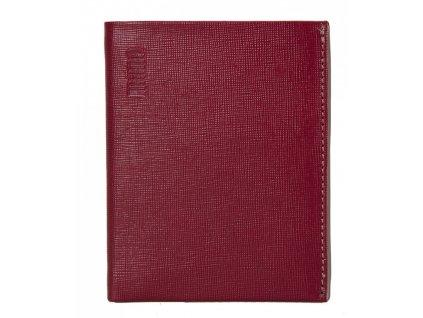 MANO pánská červená kožená peněženka MANO 20200