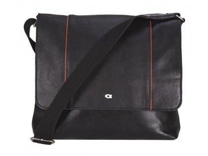 daag černá kožená taška JAZZY ACTIVE 277, DAAG