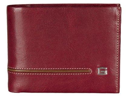 GIUDI pánská červená kožená peněženka 7004, GIUDI