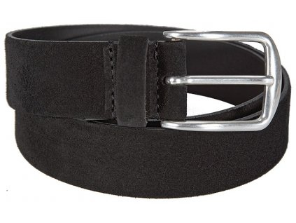 BERND GÖTZ černý velurový pásek 351330, BERND GÖTZ