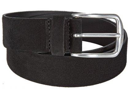 Černý semišový pásek 351330, BERND GÖTZ