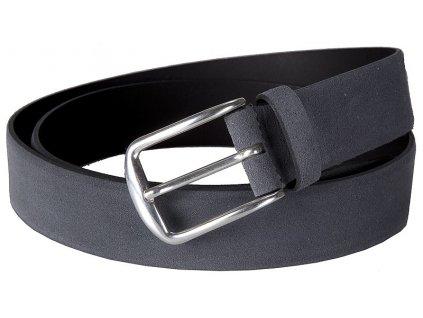 šedý velurový pásek 351330, BERND GÖTZ