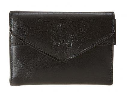 dámská černá kožená peněženka TG/DP/1679, Tony Perotti
