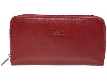 Tony Perotti velká dámská červená kožená peněženka - penál TG/DP/2250-19, Tony Perotti