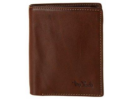 Pánská hnědá kožená peněženka 1743, tony perotti