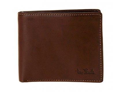 pánská hnědá kožená peněženka 2016, Tony Perotti