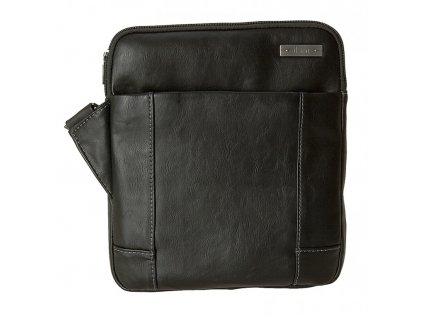 """černá taška na 9,7"""" iPad  z umělé kůže 521401, d&n lederwaren"""