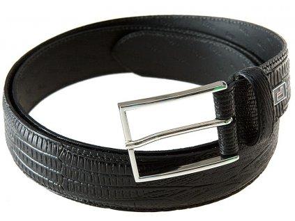 Lloyd pánský černý kožený pásek 0826, Lloyd