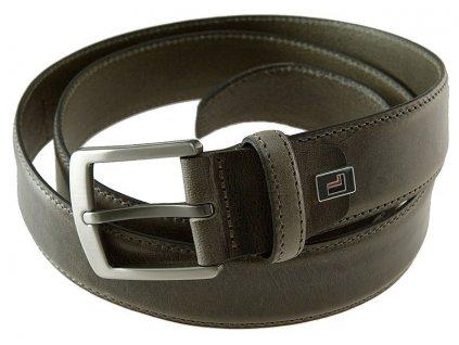 Lloyd pánský šedý kožený pásek 0822, Lloyd