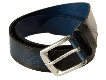 modrý kožený pásek 402187, BERND GÖTZ