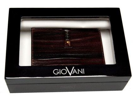 Luxusní pánská kožená peněženka GIOVANI