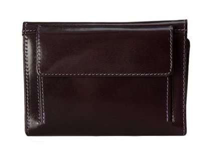 dámská fialová kožená peněženka 225 D, Stefania