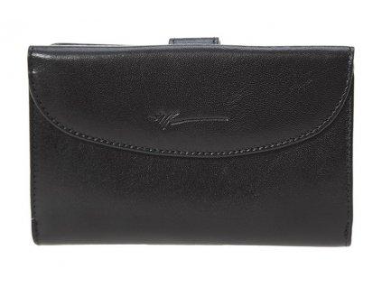 Dámská kožená peněženka DRAGON Finesa - černá